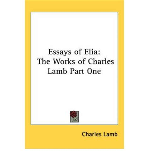 Charles Lamb Facts - biographyyourdictionarycom